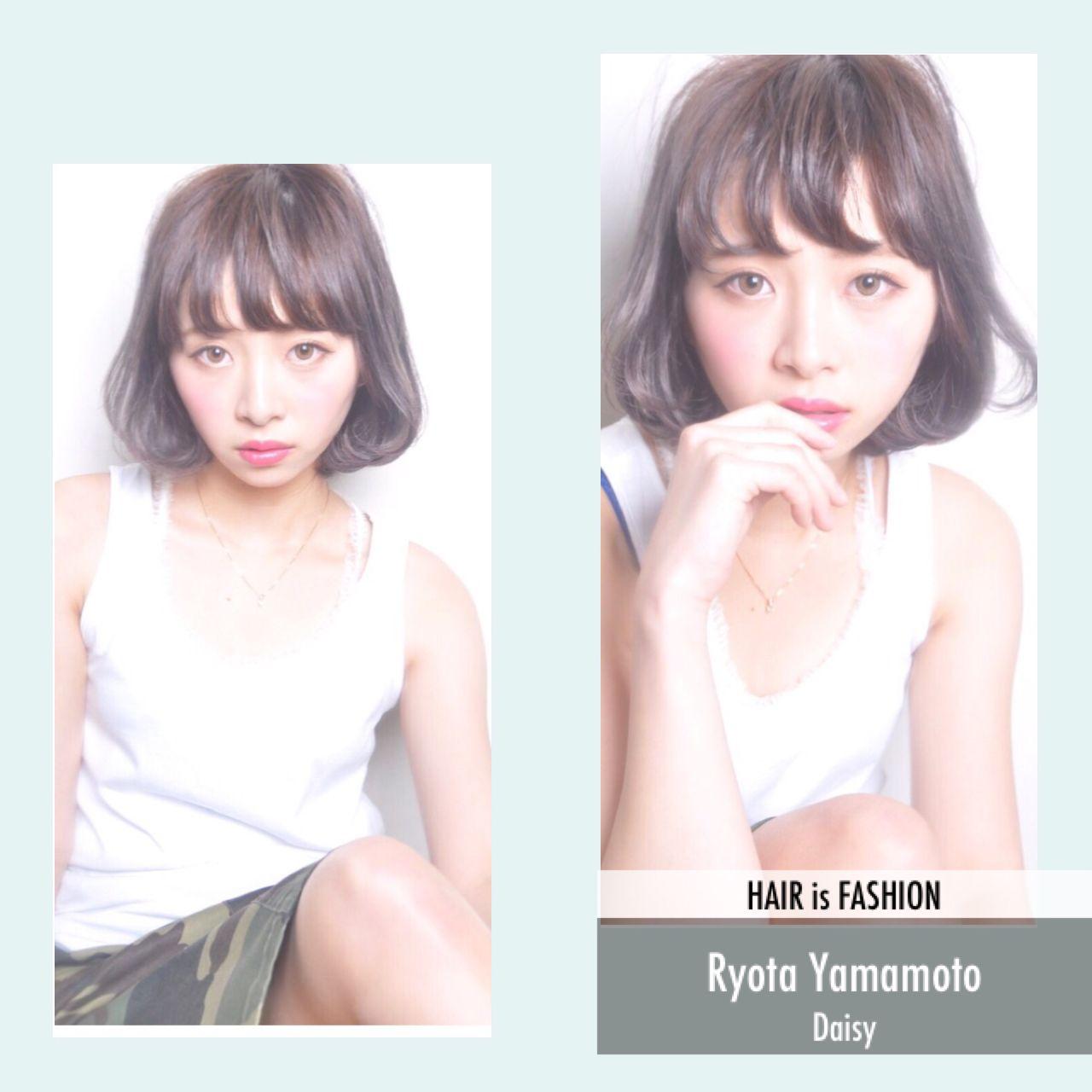 ショート モード ストリート ボブ ヘアスタイルや髪型の写真・画像 | Ryota Yamamoto Daisy / Daisy