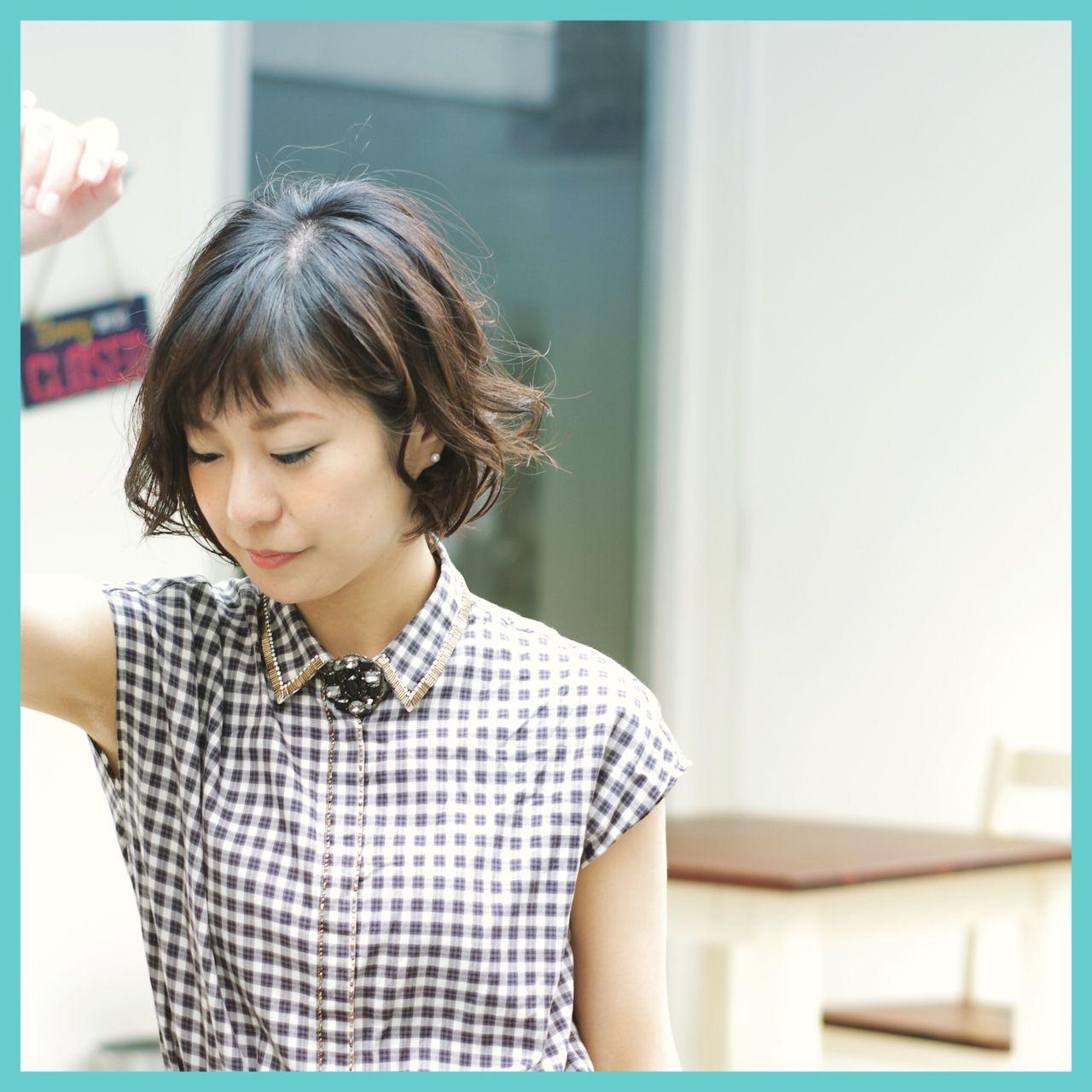 マンネリ化させない。ショートヘアさんのためのスタイリング講座。 吉田博勝 / THE CYNDi