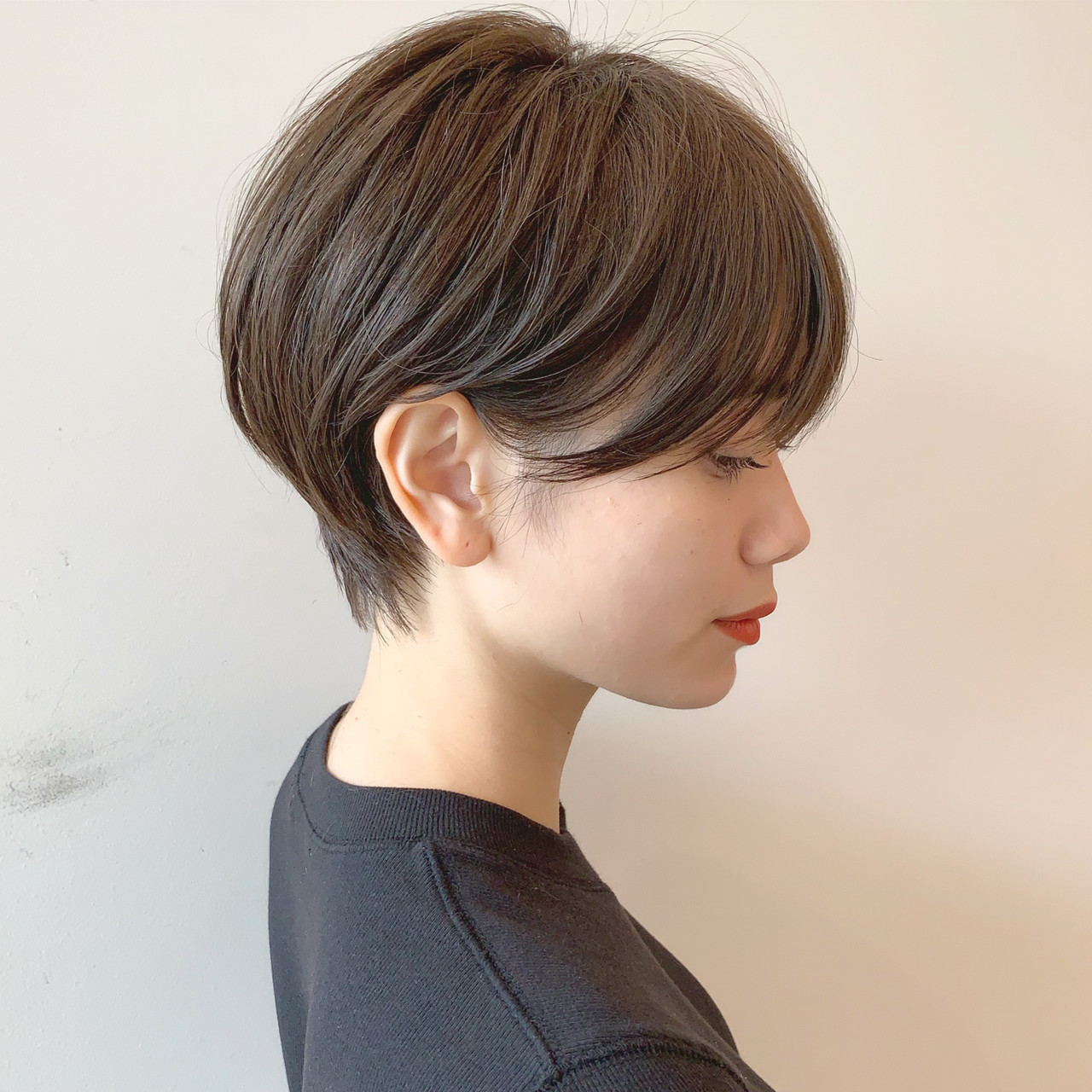 ショート ナチュラル 簡単ヘアアレンジ オフィス ヘアスタイルや髪型の写真・画像 | ショートヘア美容師 #ナカイヒロキ / 『send by HAIR』