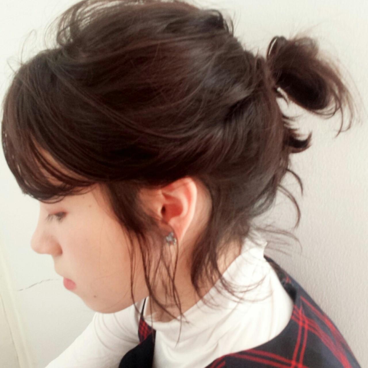ゆるっと可愛い王道ヘアアレンジ♡キュートに仕上がるおだんごヘアまとめ 中原梨沙 nakayan