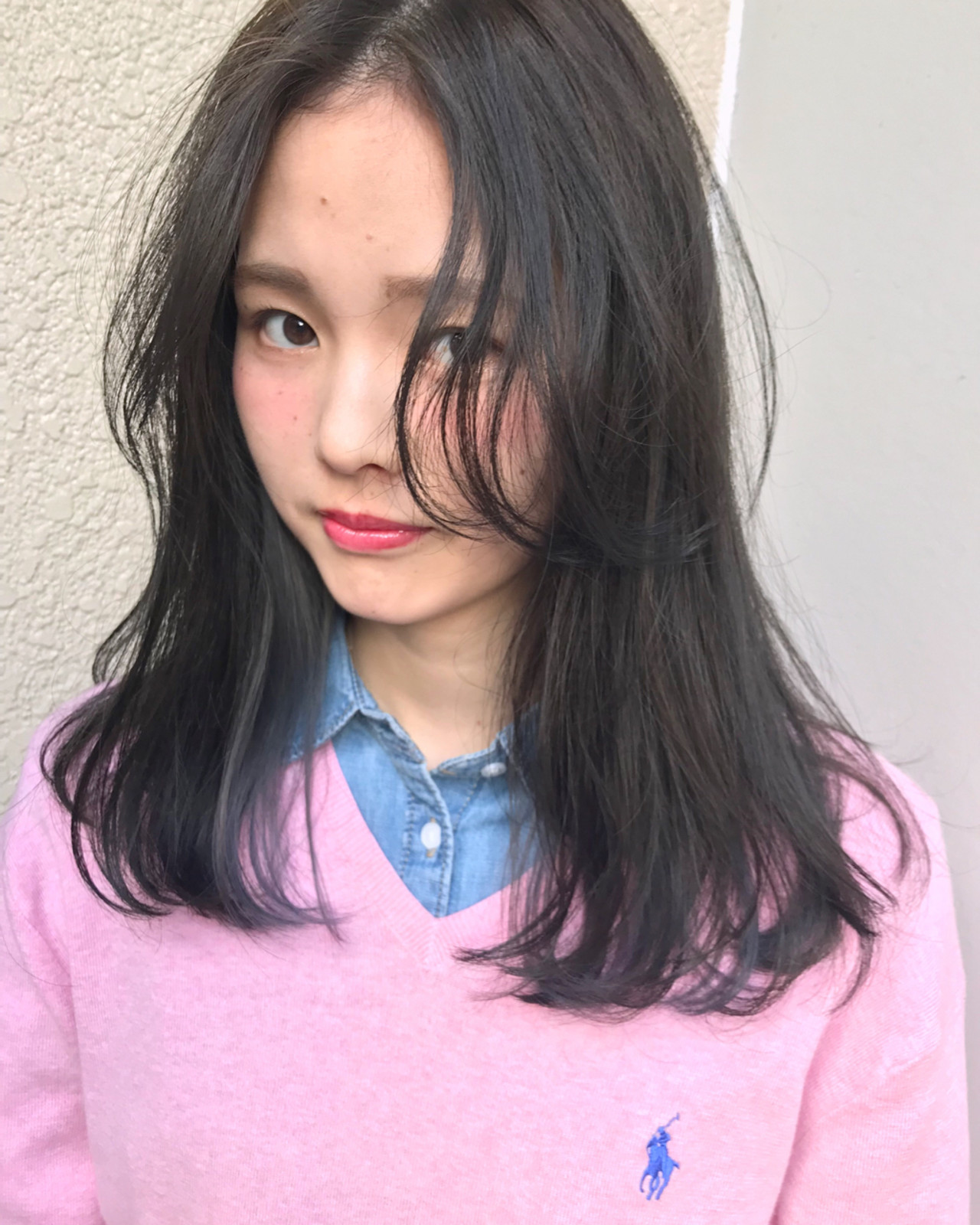 前髪あり デート 冬 ゆるふわ ヘアスタイルや髪型の写真・画像 | 岩田 和也 / NOE SALON / NOESALON