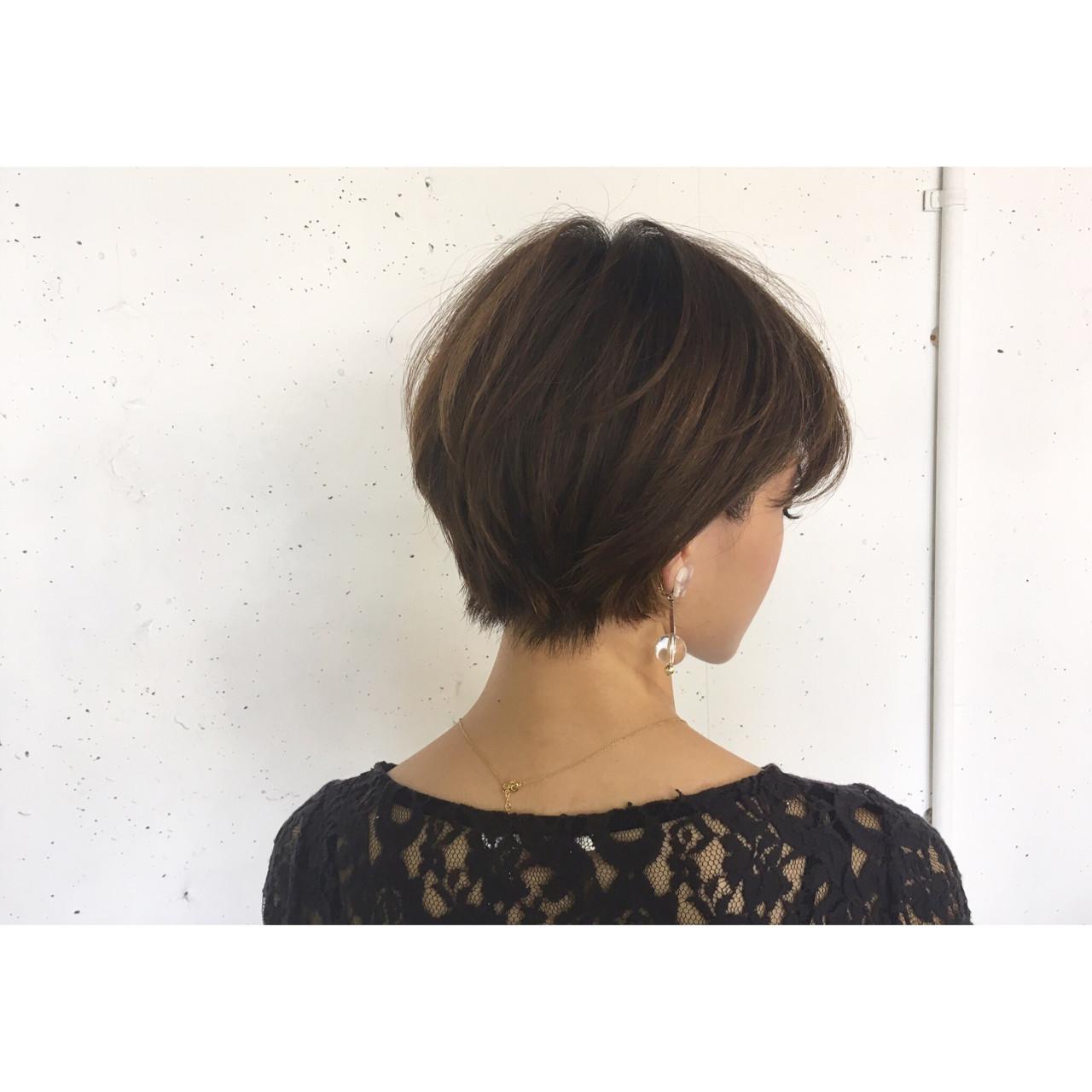 ハンサム リラックス ショート かっこいい ヘアスタイルや髪型の写真・画像 | 森下佳哲 / lufun hair design