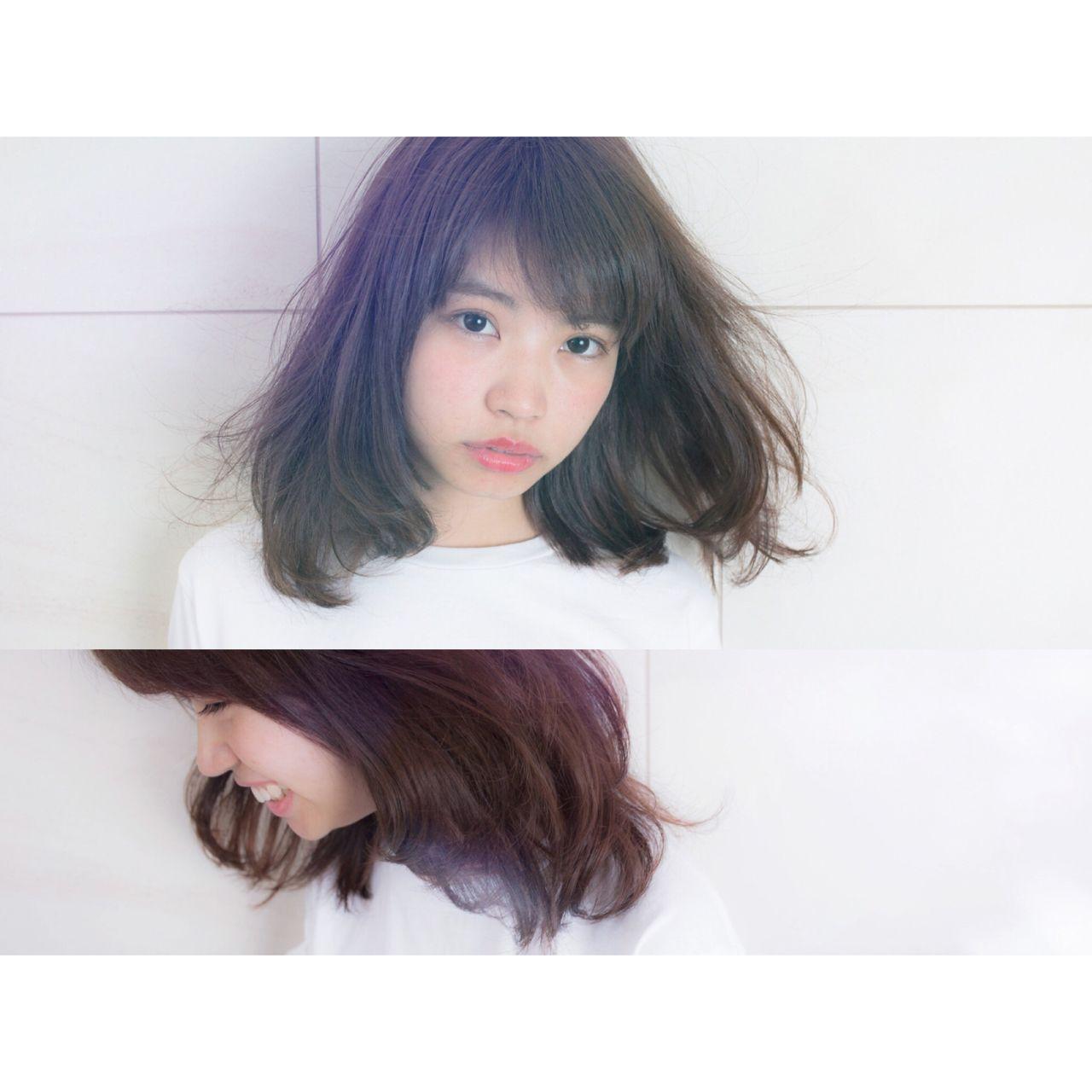 この秋、モテの基本は「ロブ」。海外セレブの間で話題になった髪型が日本でも流行中! 石坂 ゆうと / PEEK A BOO