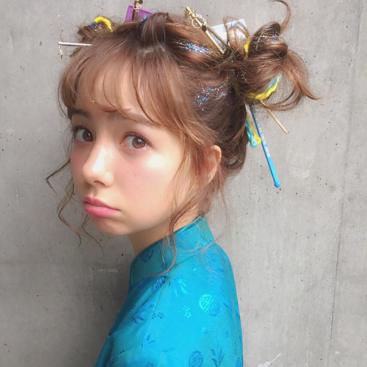 ピュア ショート ミディアム 簡単ヘアアレンジ ヘアスタイルや髪型の写真・画像 | MOTAI / Wille / Wille