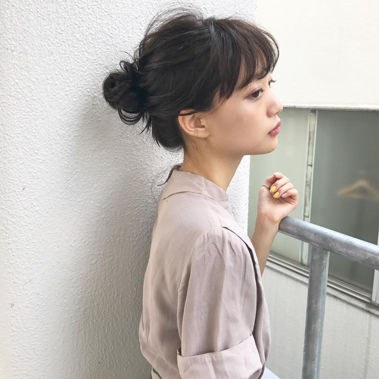 結婚式 簡単ヘアアレンジ デート ナチュラル ヘアスタイルや髪型の写真・画像 | 佐々木拓巳 / GARDEN harajuku