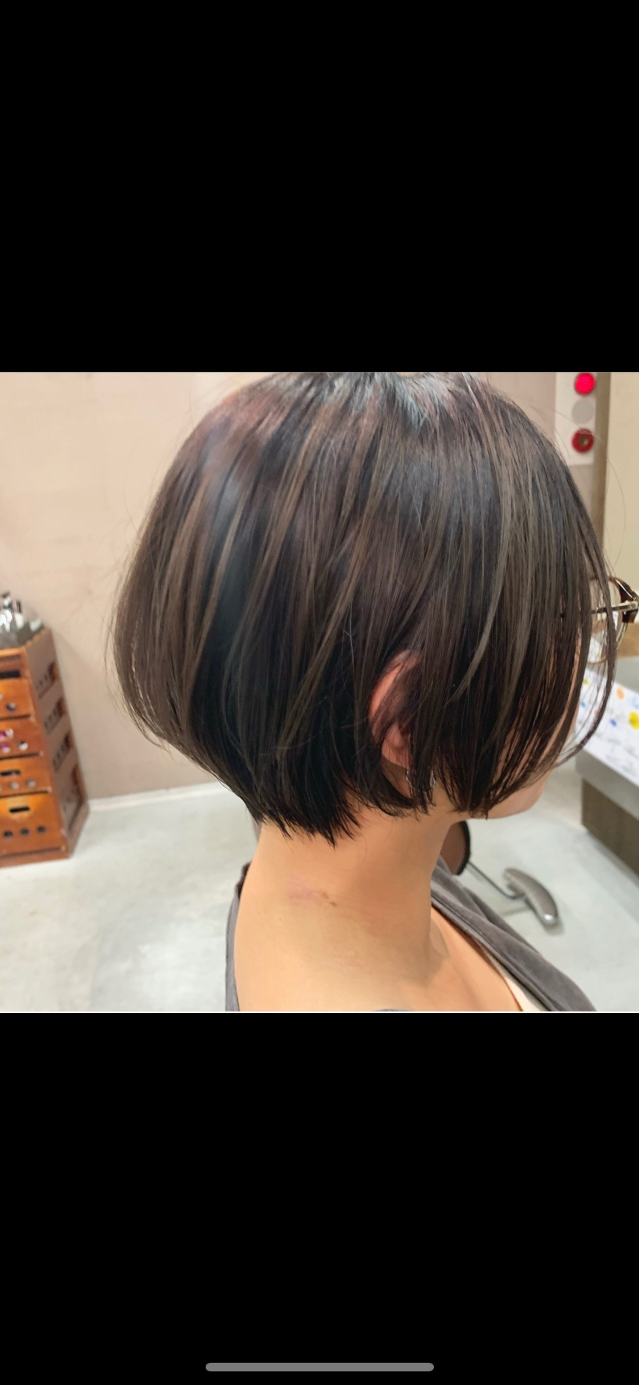 ショートヘア ショート 切りっぱなしボブ ショートボブヘアスタイルや髪型の写真・画像