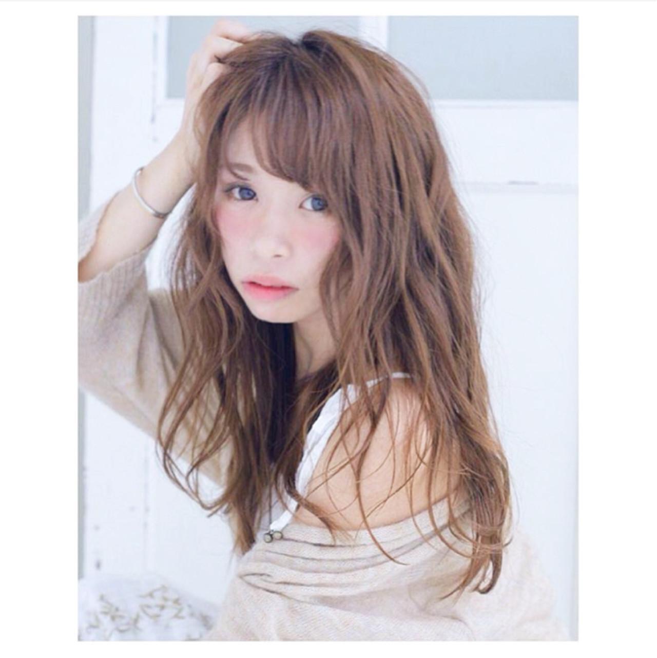 ニュアンス フェミニン ガーリー 大人女子 ヘアスタイルや髪型の写真・画像 | erica /