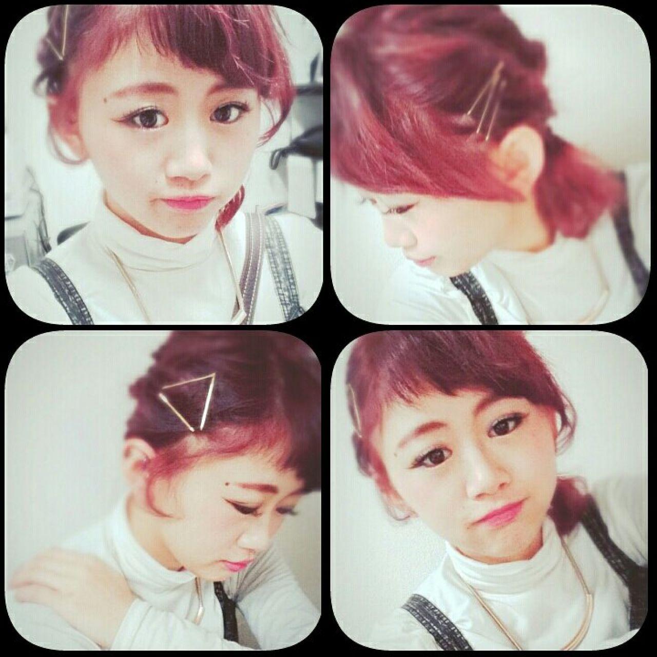 誰でもできる簡単アレンジ・ザクザクピンがかわいすぎ♡ Ikuho Sawai