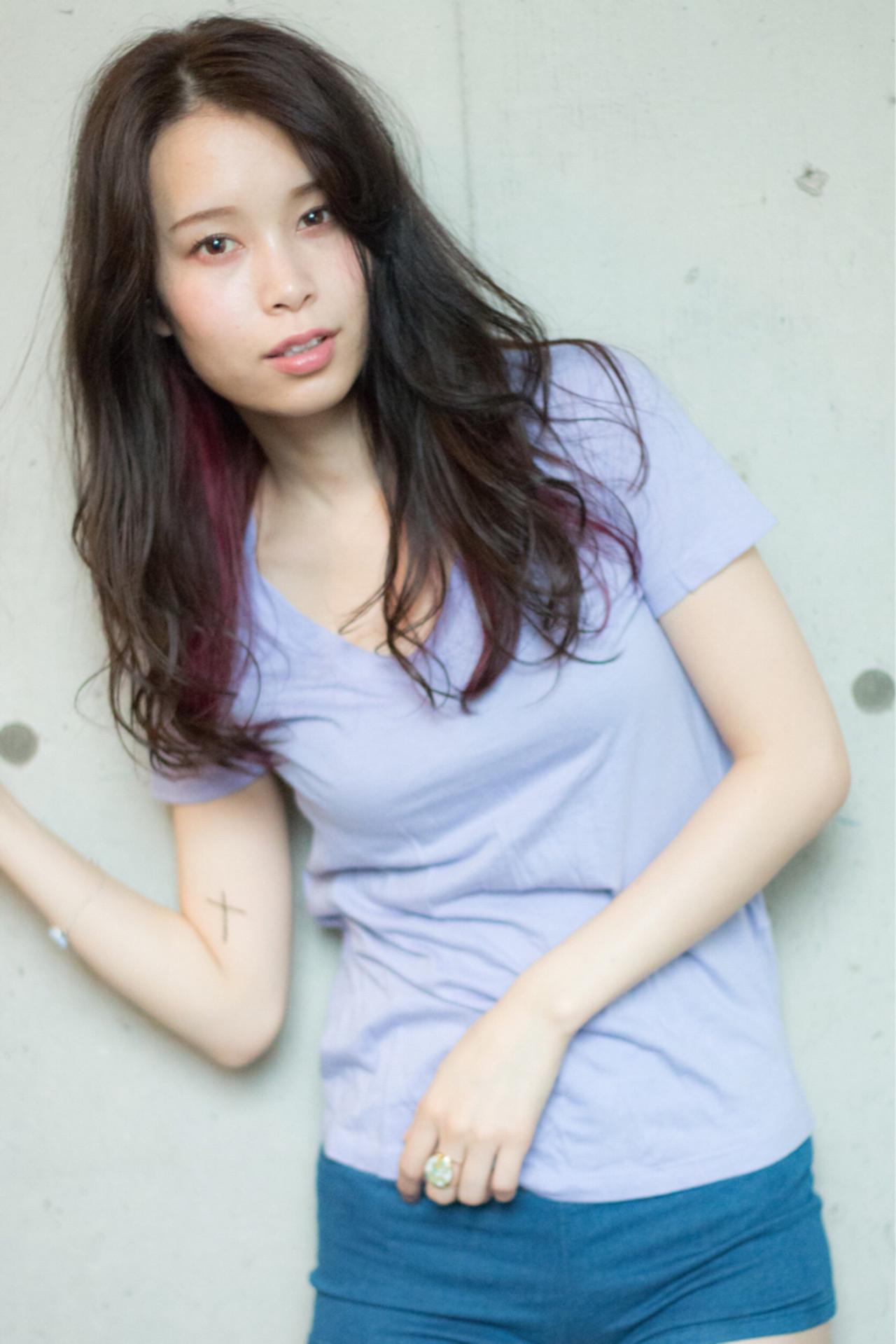 パーマでレベルアップ!無敵のかわいさ♡黒髪セミロング 神保 充 / BAY ROOM -by HONEY omotesando-