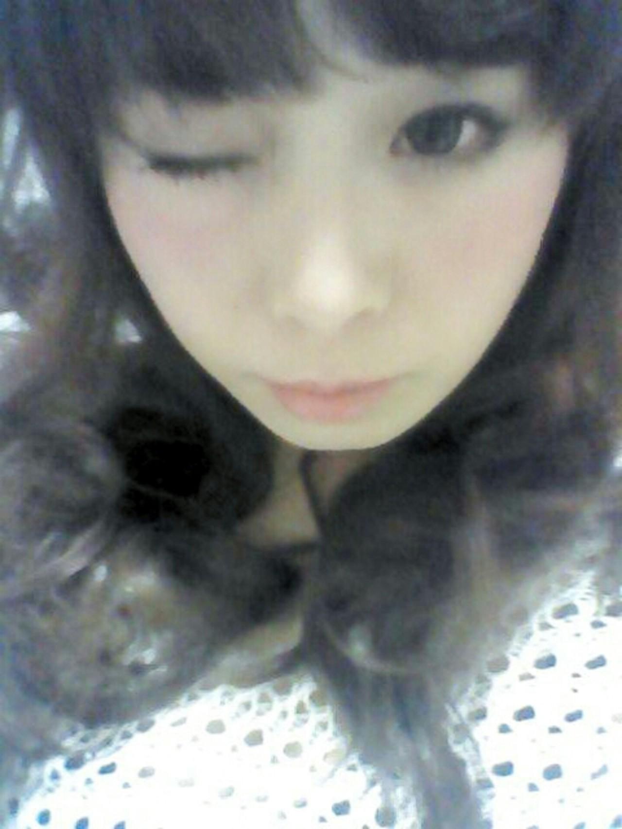セミロング かわいい 愛され ワイドバング ヘアスタイルや髪型の写真・画像 | やす(やすこ) /
