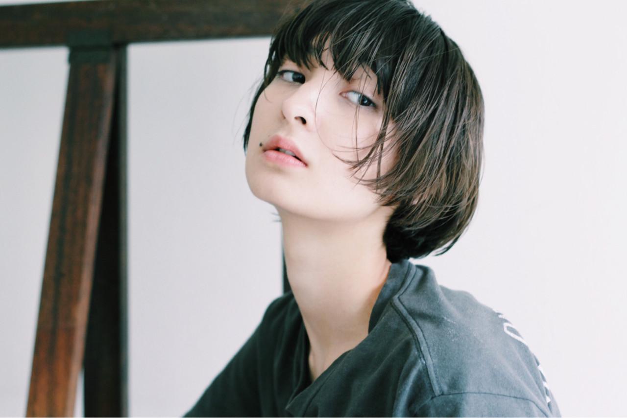 ショートカットの魅力UPはグラデーションカラーで!髪色の魔法で変身♡ Saori