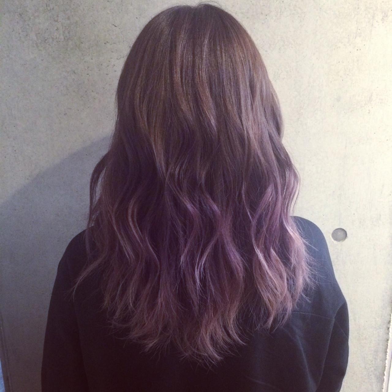 ラベンダーアッシュなあなたの髪色を旬に♪うっとり色落ちを楽しもう イッシキ ケンタ / La familia