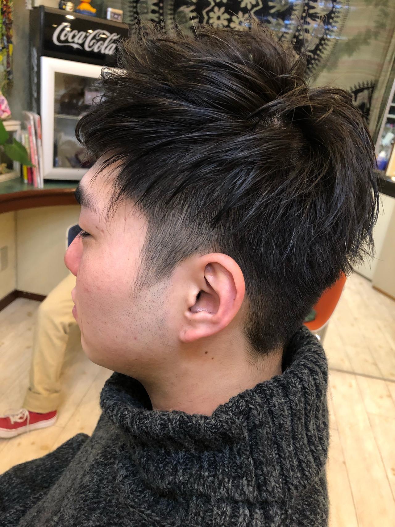 メンズ フェミニン メンズカジュアル 成人式 ヘアスタイルや髪型の写真・画像 | TMe hair/tomoe chiba / TMe hair川崎小田