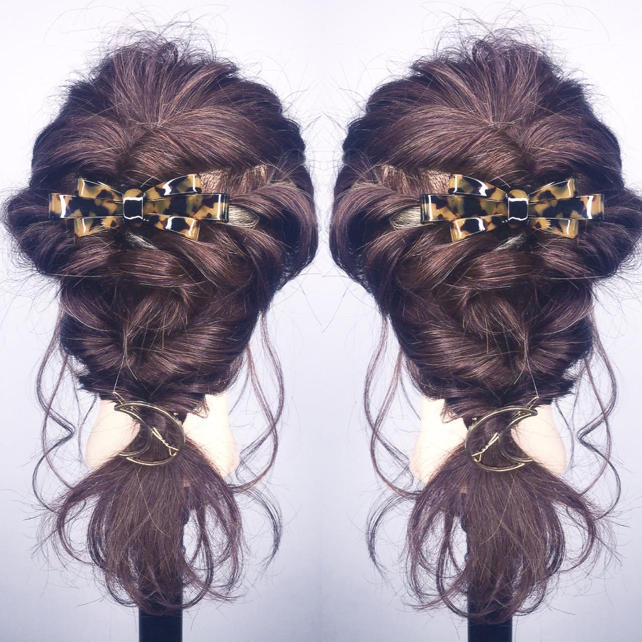 ナチュラル ロング ショート 結婚式ヘアスタイルや髪型の写真・画像
