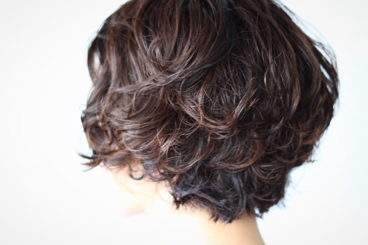 フェミニン ナチュラル 大人かわいい ボブ ヘアスタイルや髪型の写真・画像 | creap / creap