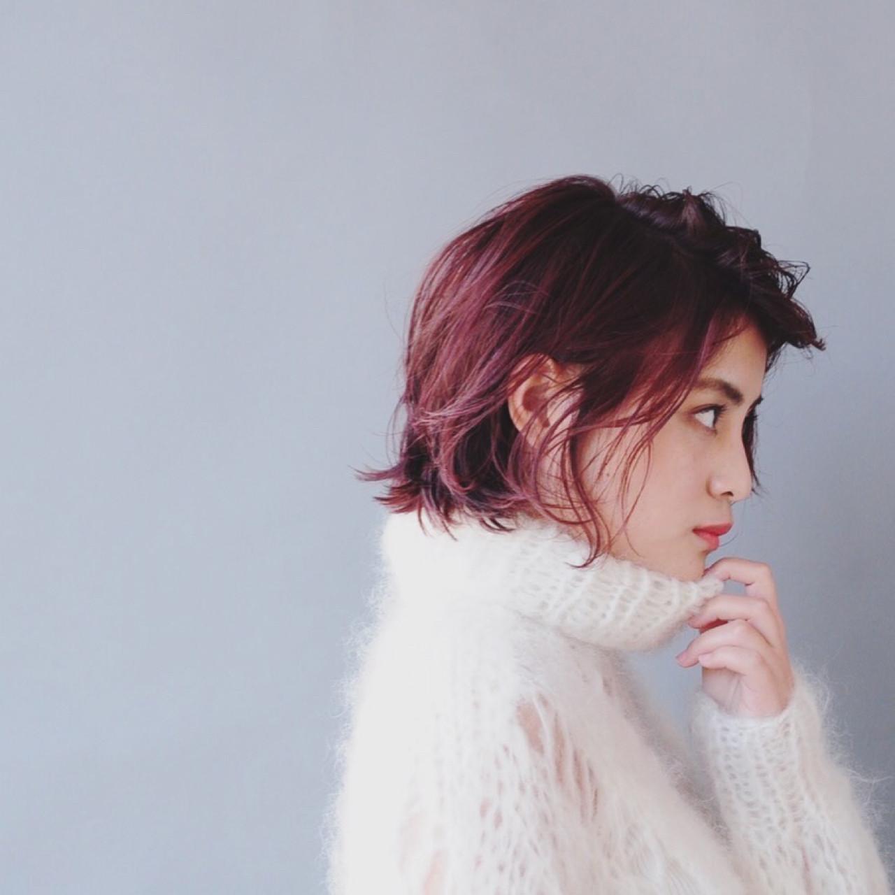 アンニュイ 外ハネ ボブ こなれ感 ヘアスタイルや髪型の写真・画像 | 小走 祥菜 / tricca daikanyama