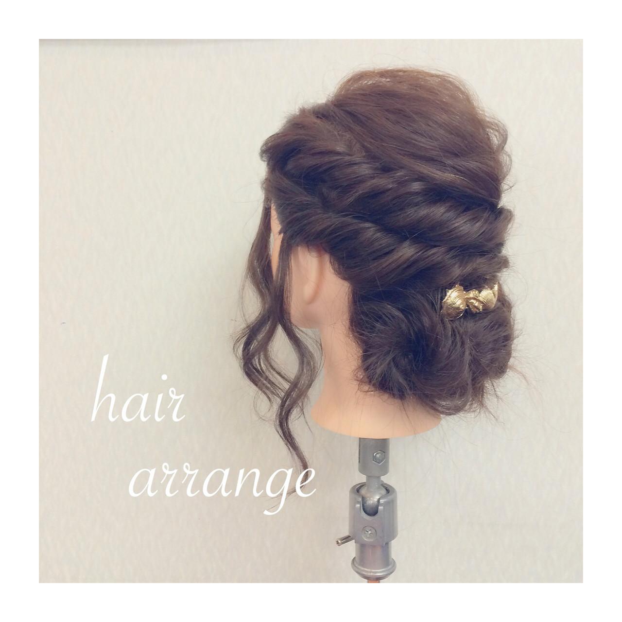 ヘアアレンジ フェミニン 大人かわいい 簡単ヘアアレンジ ヘアスタイルや髪型の写真・画像 | ヤマナカサトル / DIOR of Hair