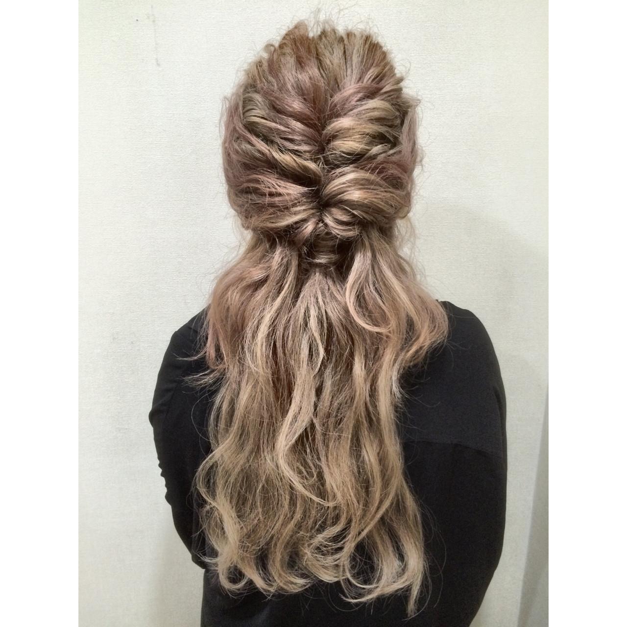外国人風 ロング 春 大人かわいい ヘアスタイルや髪型の写真・画像 | 北岡 清哉 /hair mission / hair mission