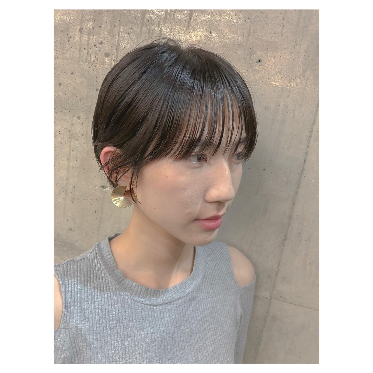 ショートボブ 大人女子 ボブ マッシュ ヘアスタイルや髪型の写真・画像 | shooooki / GO TODAY SHAiRE SALON渋谷