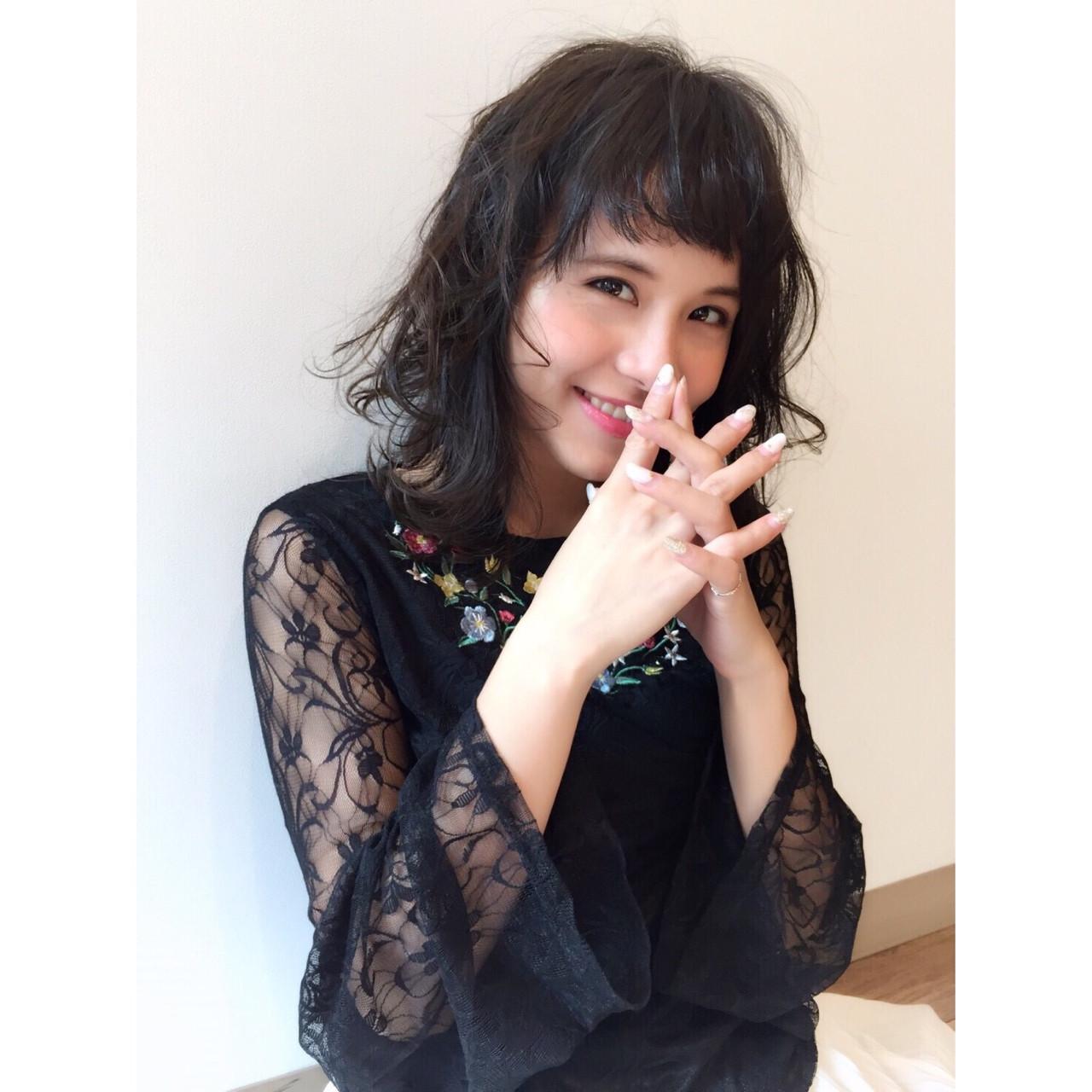 ゆるふわ 大人かわいい 外国人風 ナチュラル ヘアスタイルや髪型の写真・画像 | サン /