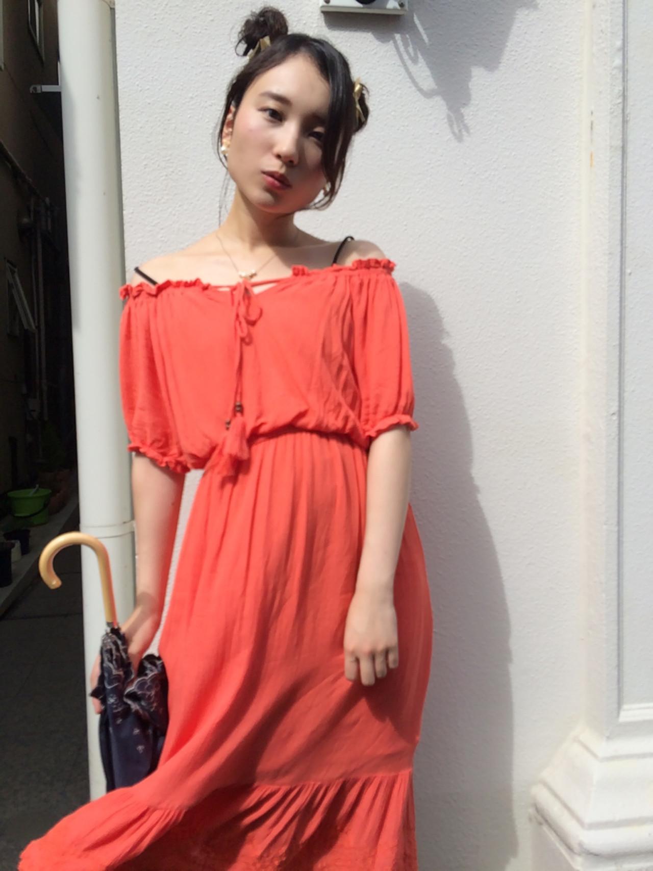 ピュア ショート ヘアアレンジ ハーフアップ ヘアスタイルや髪型の写真・画像 | katsuhiro sasaki / HAIR&ART  LUMINA