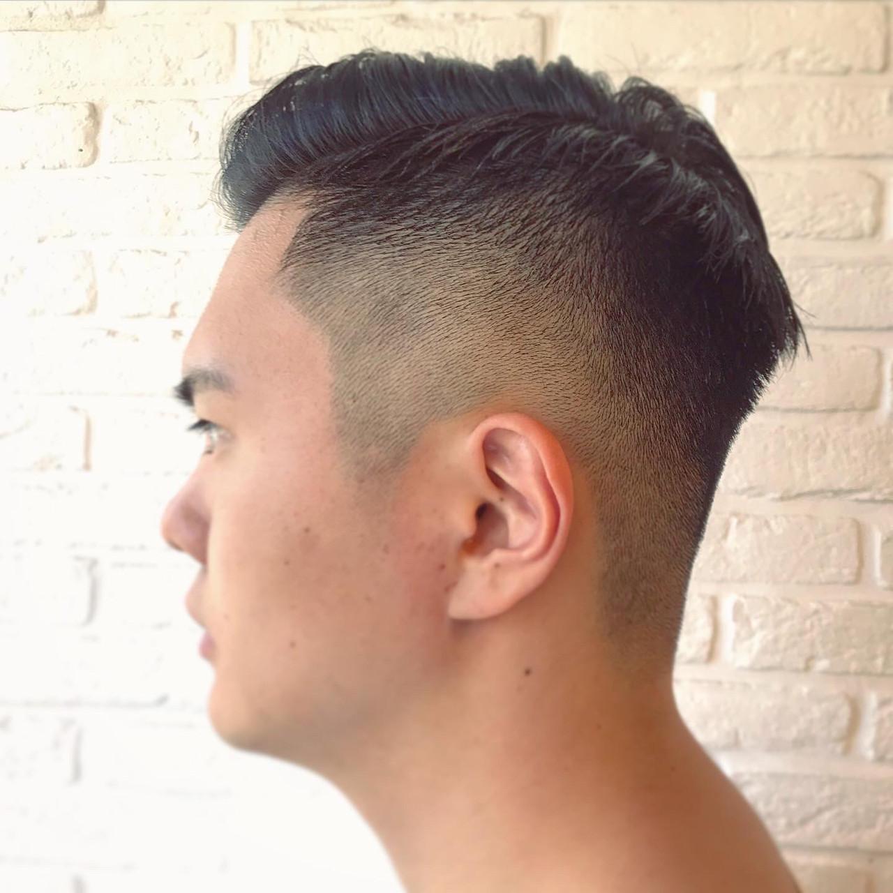 スキンフェード ストリート メンズショート メンズヘア ヘアスタイルや髪型の写真・画像   小川 敏輝 / Johnny MEN 高田馬場店