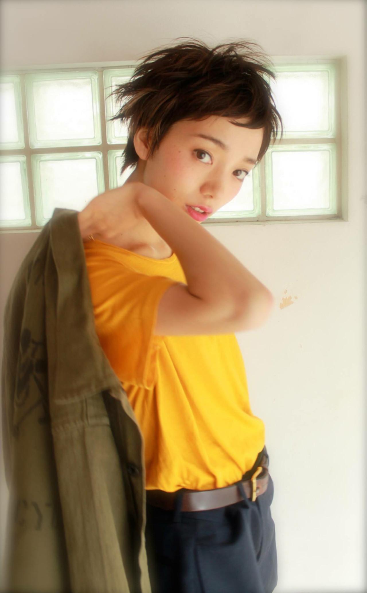 ショート ニュアンス 大人女子 アッシュ ヘアスタイルや髪型の写真・画像 | bibito crew / bibito