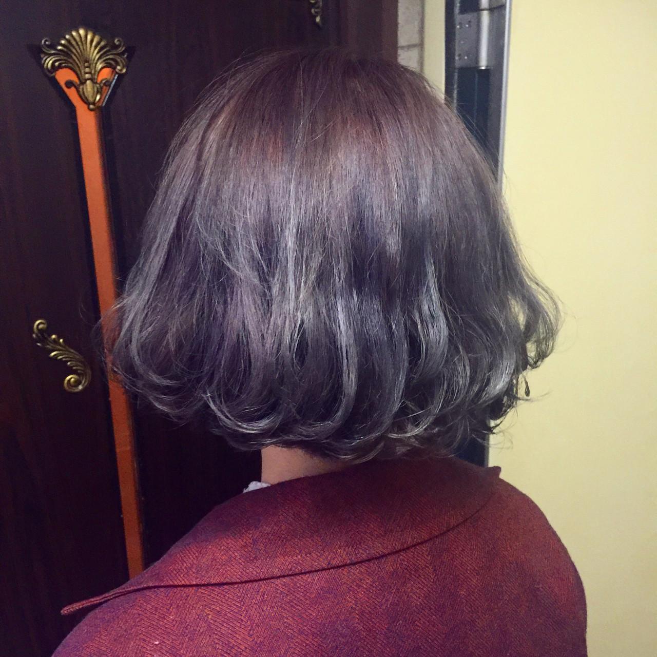 ラベンダーアッシュなあなたの髪色を旬に♪うっとり色落ちを楽しもう eeko(miyuki nakamura) / vamp diva wyrm