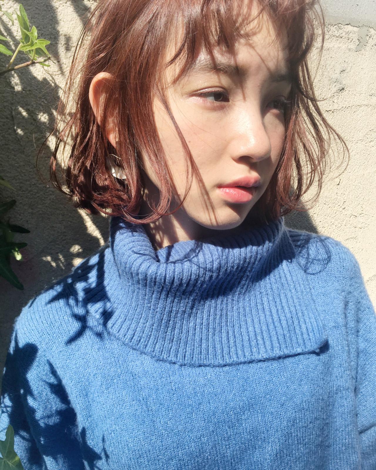 色気 外国人風 小顔 ニュアンス ヘアスタイルや髪型の写真・画像 | 日野 達也 / GO TODAY  SHAiRE SALON
