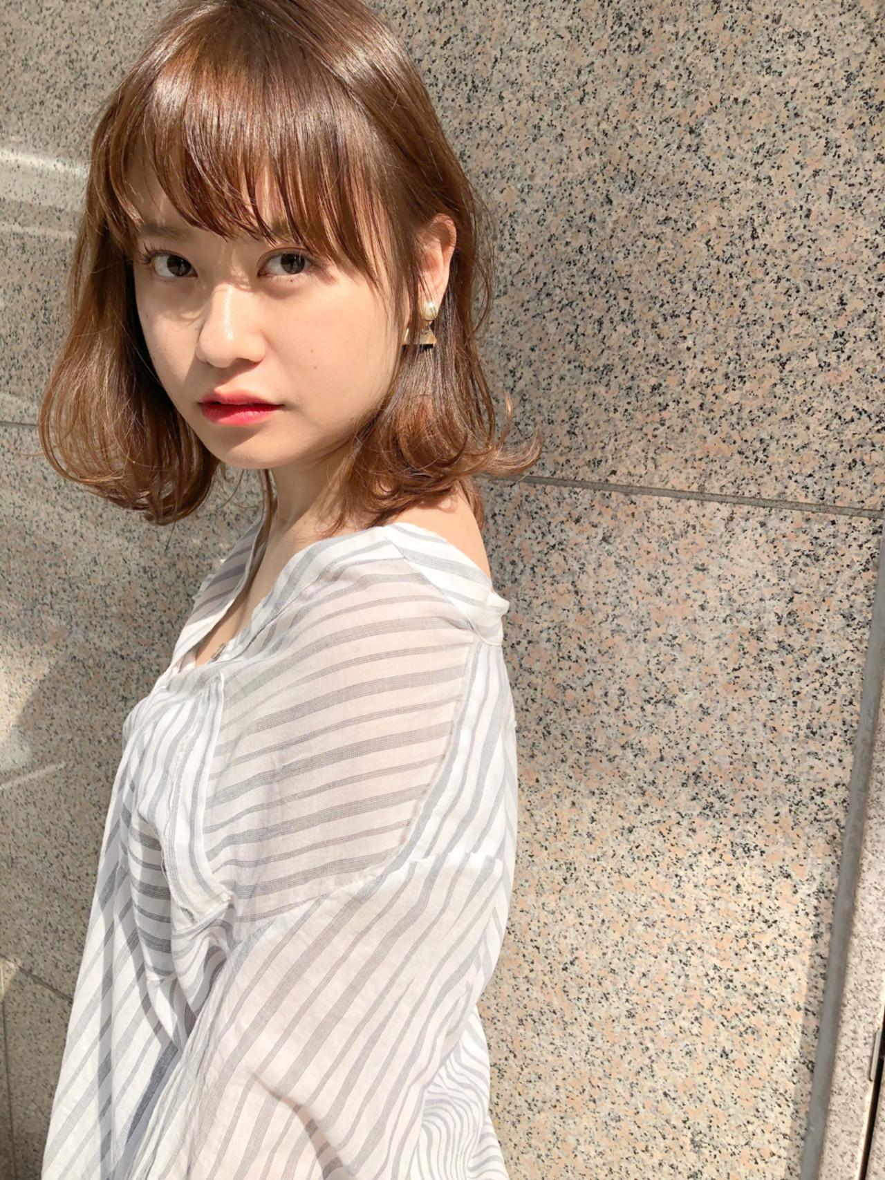 ゆるふわ 愛され アンニュイ ヘアアレンジ ヘアスタイルや髪型の写真・画像 | ナガヤ アキラ joemi 新宿 / joemi by Un ami