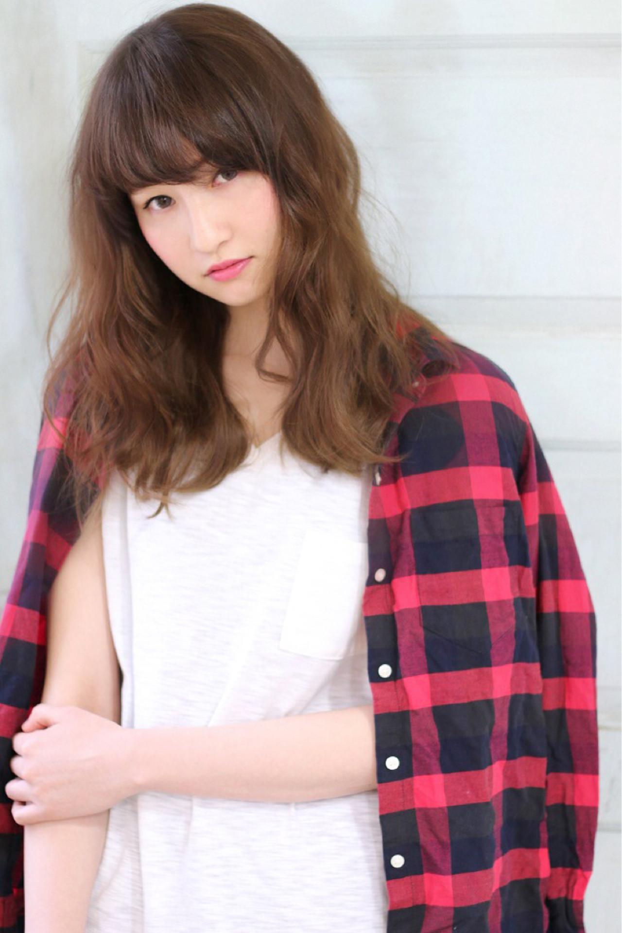 セミロング ナチュラル グラデーションカラー 外国人風 ヘアスタイルや髪型の写真・画像 | 石川フミヤ / Jule