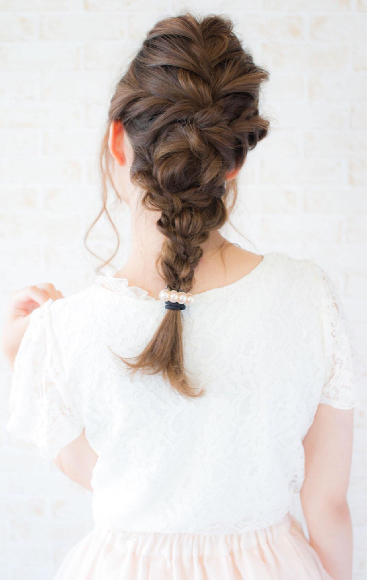 フェミニン ナチュラル 簡単ヘアアレンジ ショート ヘアスタイルや髪型の写真・画像   早川 宏介 / LOUIMADNA栄