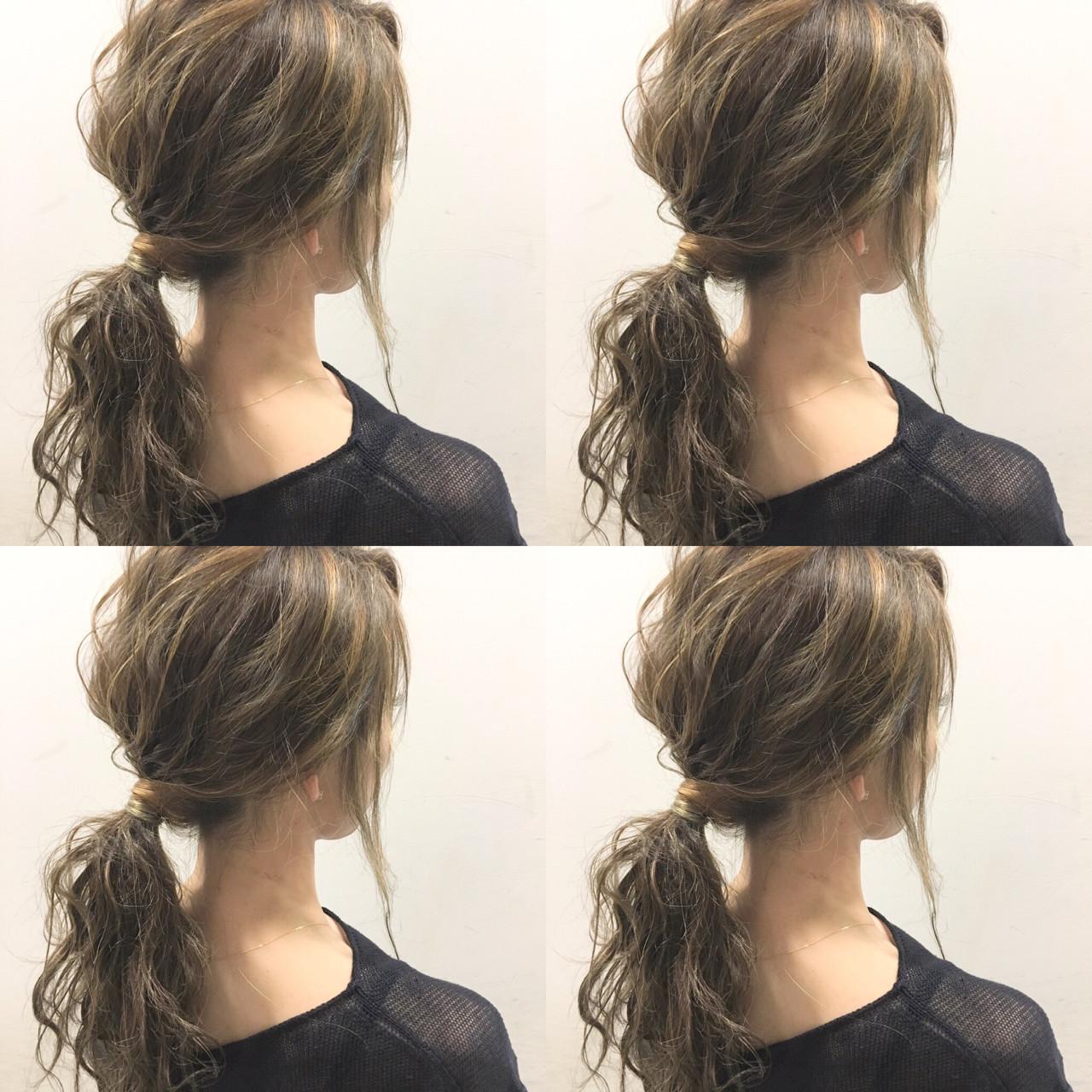 外国人風 フェミニン セミロング 波ウェーブ ヘアスタイルや髪型の写真・画像 | 斧江 和也 / ROOTS IRIE