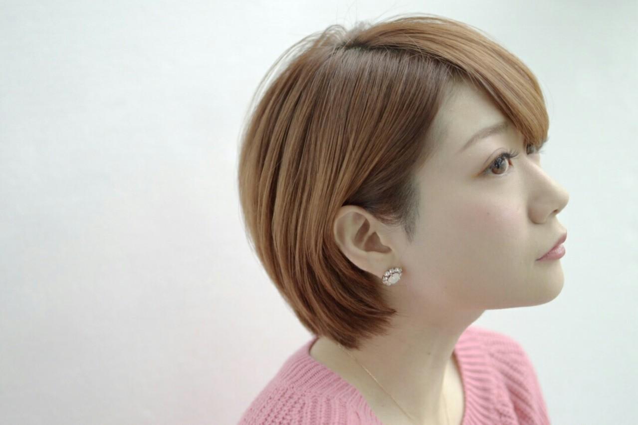 成人式後だからできる!今こそバッサリ、ショートヘアで新たな私に。 萩原 翔志也 / vicca