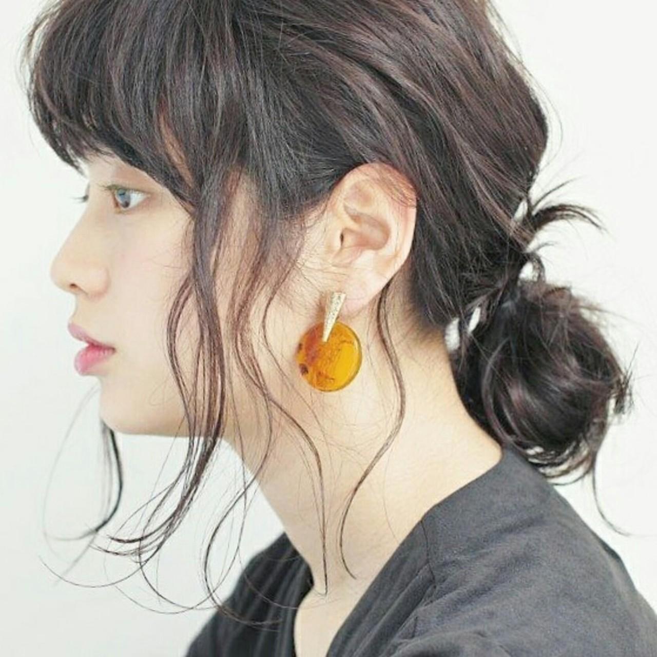 外国人風 ヘアアレンジ ナチュラル 簡単ヘアアレンジ ヘアスタイルや髪型の写真・画像 | Yukie Horiuchi / スパイスアヴェダ