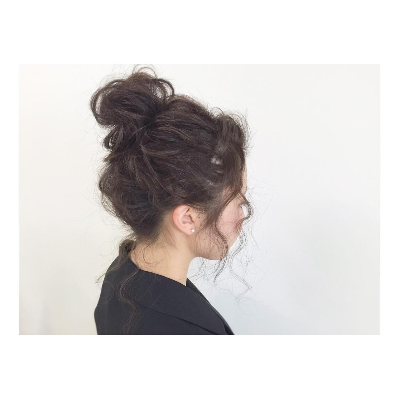 イマドキ風ゆるっとお団子を作りたい!確認しておきたい3つのポイント。 大里 健二 / Hair Atelier Angee