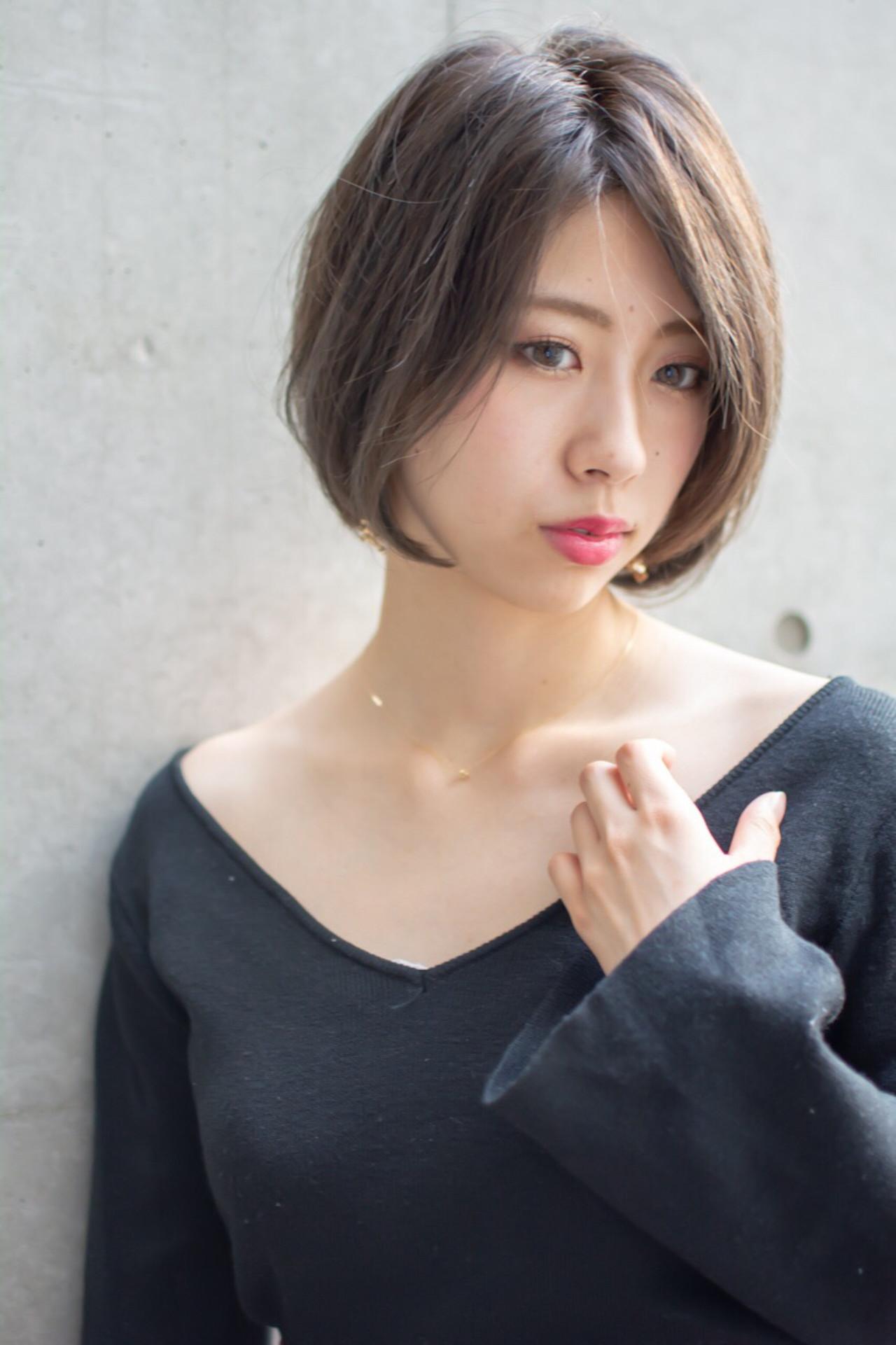 女子力 大人かわいい 透明感 エフォートレス ヘアスタイルや髪型の写真・画像 | 【noine】斉藤 正敏 / noine