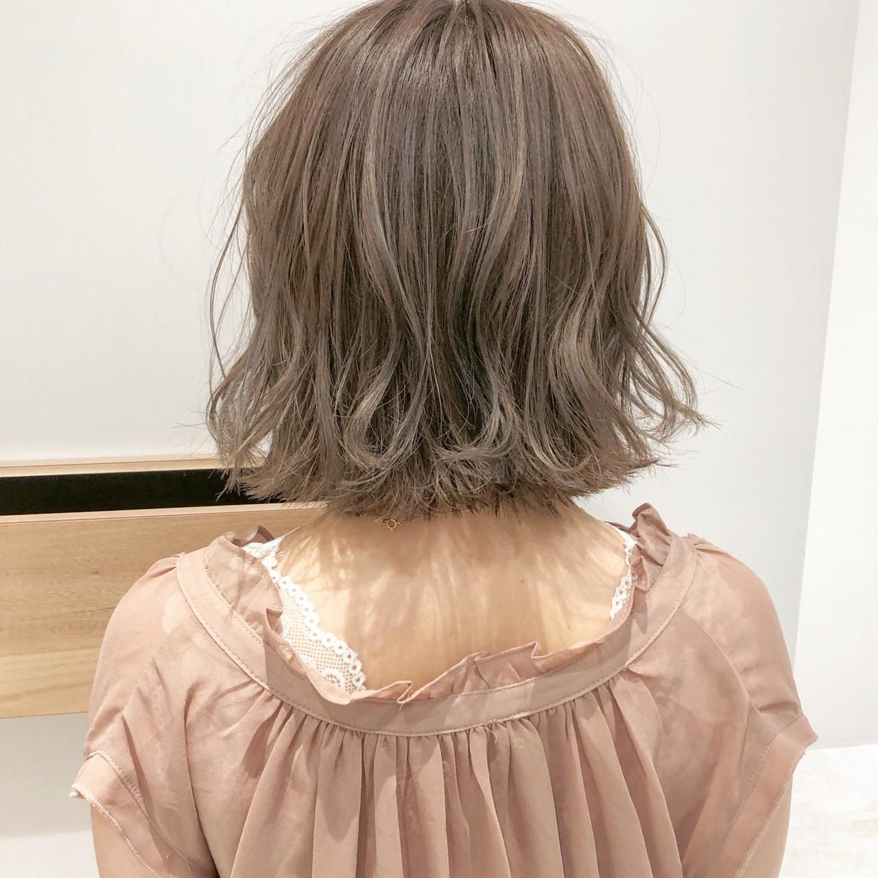 切りっぱなしボブ ショートヘア ナチュラル ボブ ヘアスタイルや髪型の写真・画像 | 『ボブ美容師』永田邦彦 表参道 / send by HAIR