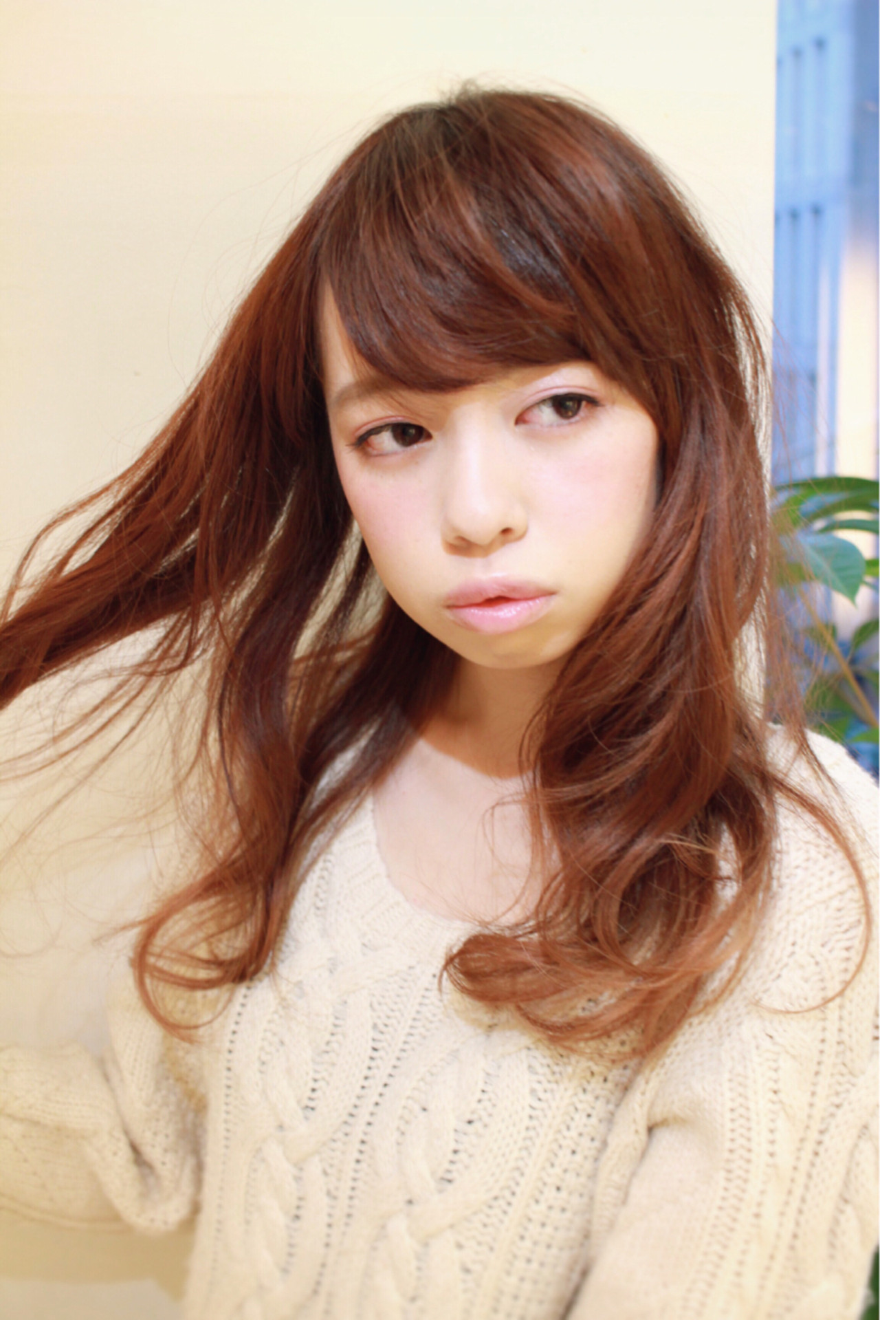 モテ髪 愛され ゆるふわ ガーリー ヘアスタイルや髪型の写真・画像 | HROKI(上遠野 裕樹) / Agnos青山