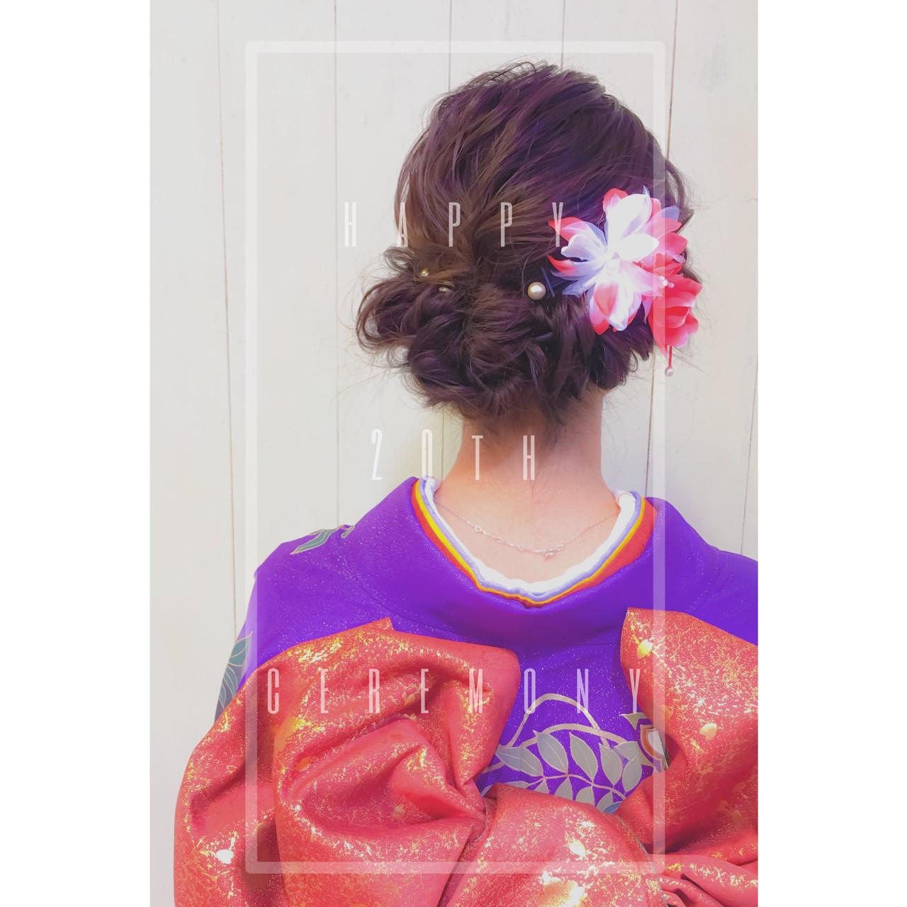 ショート ミディアム ヘアアレンジ 大人女子 ヘアスタイルや髪型の写真・画像 | 井手口 倫也 / luve heart's And Be+Eclat