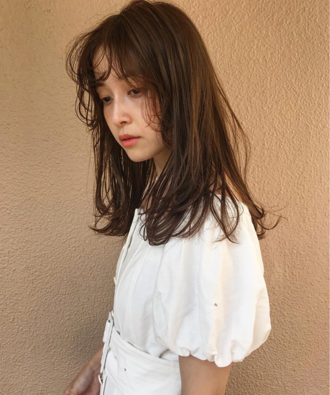 涼しげ 夏 デート 大人かわいい ヘアスタイルや髪型の写真・画像 | lora.garden 英太 /  lora.garden