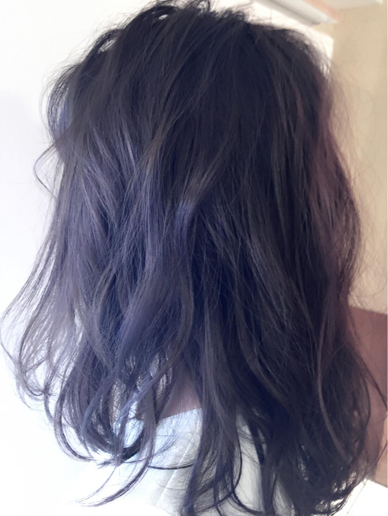 外国人風 ストリート アッシュ 暗髪ヘアスタイルや髪型の写真・画像