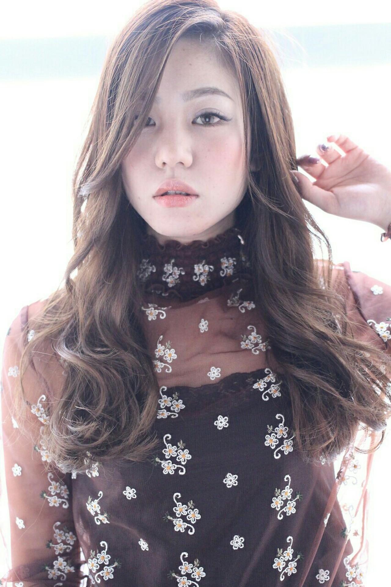 大人かわいい 外国人風 ナチュラル モテ髪ヘアスタイルや髪型の写真・画像