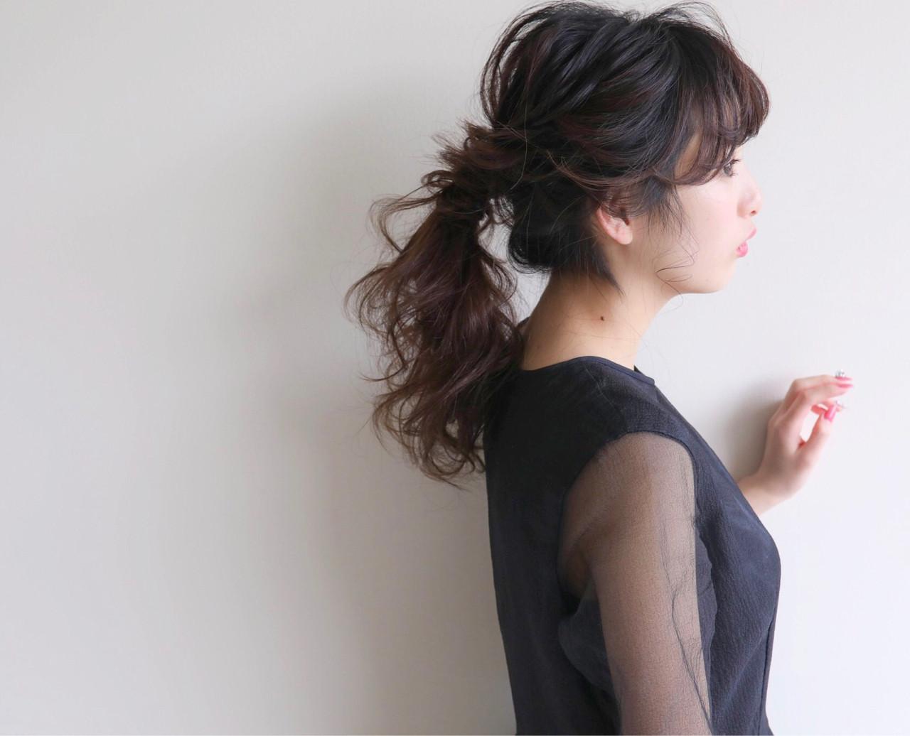 ヘアアレンジ フェミニン 結婚式 ロープ編み ヘアスタイルや髪型の写真・画像 | 高瀬 功二 / Liliy