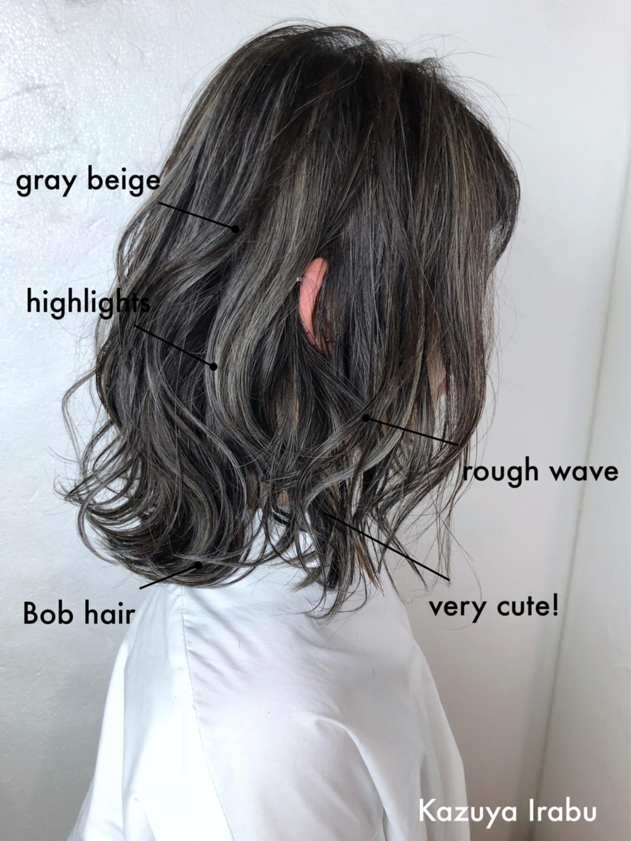 スポーツ ミディアム 抜け感 ハイライトヘアスタイルや髪型の写真・画像