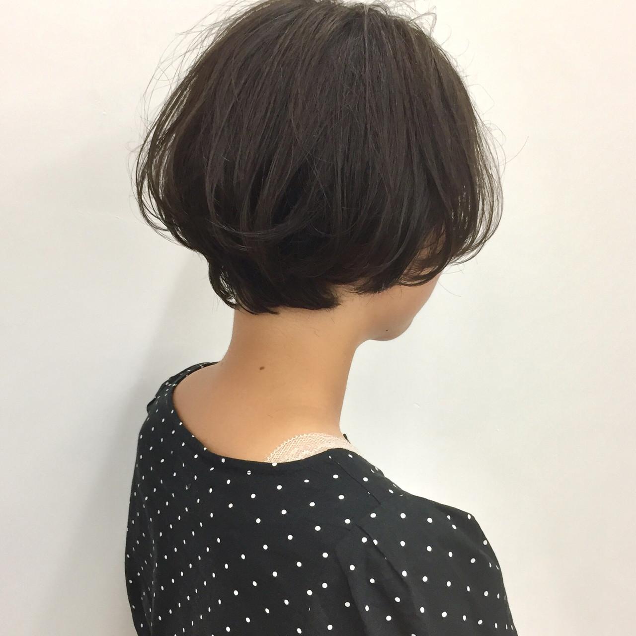 ナチュラル ベリーショート 小顔ショート ショート ヘアスタイルや髪型の写真・画像 | 【ショート&ショートボブはお任せください】淺川聖 / parc sapporo