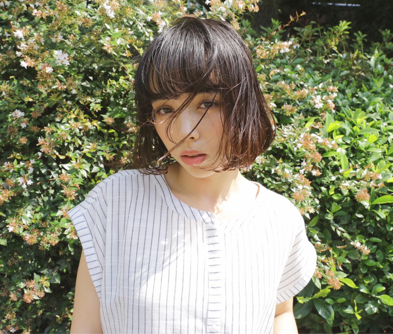 外国人風 ピュア フェミニン ナチュラルヘアスタイルや髪型の写真・画像