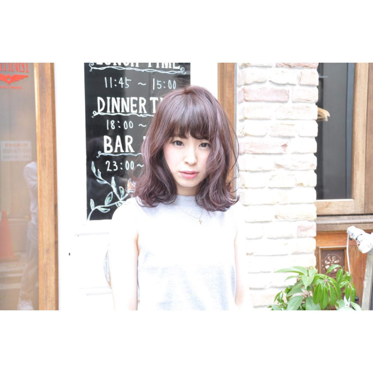 パーマ グラデーションカラー ボブ 簡単 ヘアスタイルや髪型の写真・画像   Ryota Yamamoto Daisy / Daisy