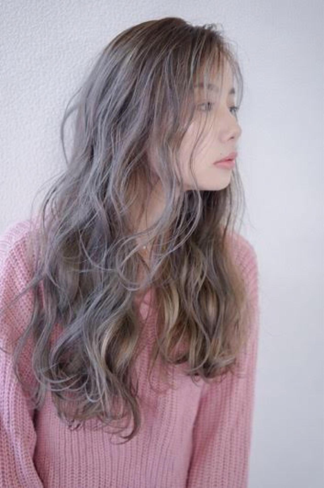 秋 グレージュ ナチュラル 透明感 ヘアスタイルや髪型の写真・画像 | 田渕 英和/vicushair / vicushair