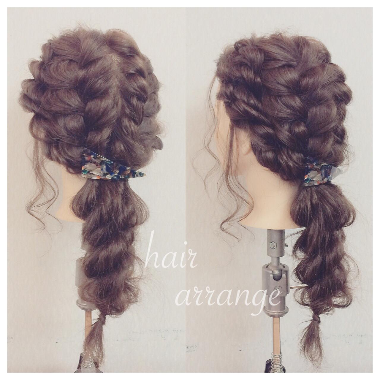ゆるふわ 二次会 ヘアアレンジ 結婚式 ヘアスタイルや髪型の写真・画像 | ヤマナカサトル / DIOR of Hair